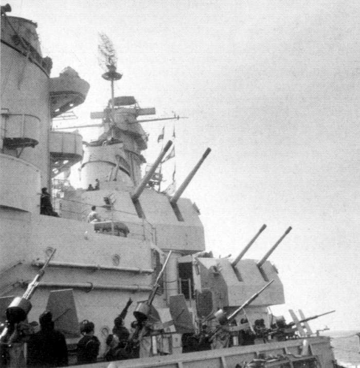 Image result for iowa class 5 inch guns