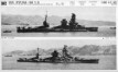 Photographs of Ise and Hyuga from Naval Intelligence