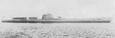 Photograph of J3-class submarine