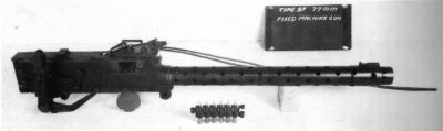 Photograph of 7.7mm Type 97 machine gun