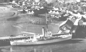 Photograph of Juneau prior to the Pacific War