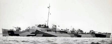 Photograph of USS John C. Butler