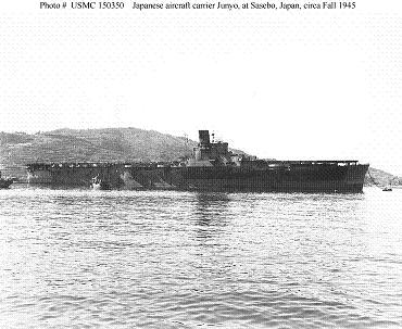 Photograph of IJN Junyo