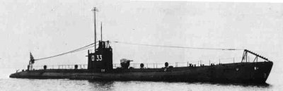 Photograph of K5 class submarine