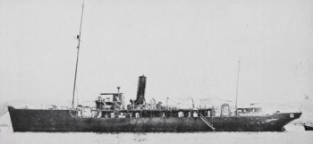 Photograph of survey ship Katsuriki