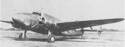 "Photograph of Ki-56 ""Thalia"" transport aircraft"