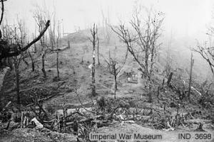 Photograph of Garrison Hill at Kohima