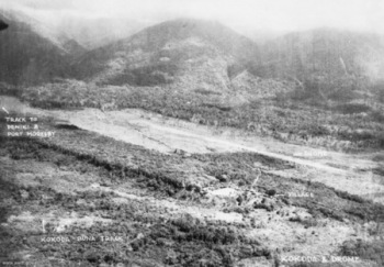 Photograph of Kokoda airstrip