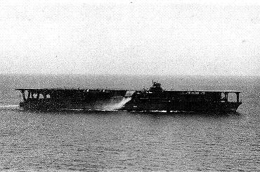 Photograph of Kaga after her 1936 modernization