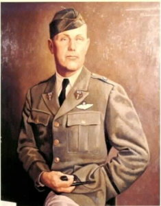 Painting of Frank Lackland