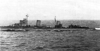 Photograph of Leningrad-class destroyer