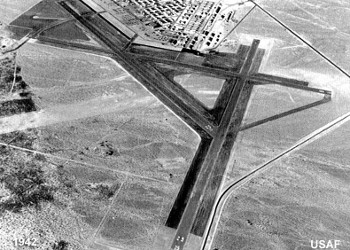 Las Vegas Army Airfield in 1942