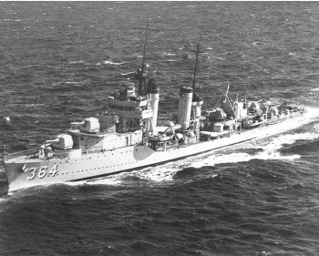 Photograph of Mahan-class destroyer