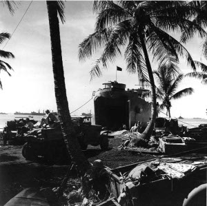 Photograph of Majuro landings