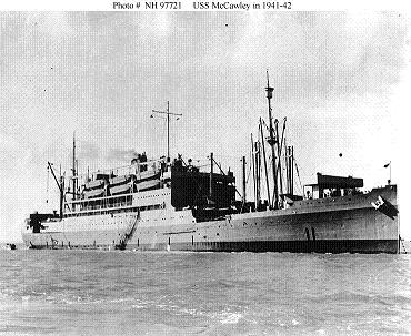 Photograph of USS McCawley