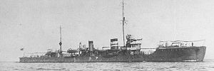 Photograph of Momi-class destroyer