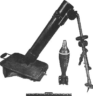 Photograph of           Japanese Type 99 mortar