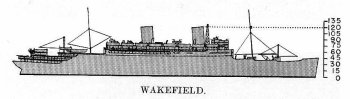 Schematic diagram of Mount Vernon class transport