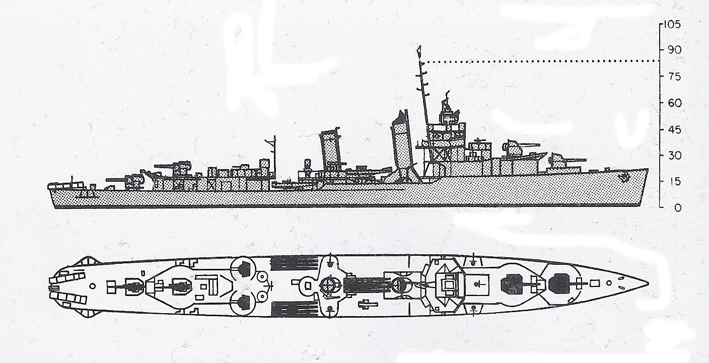 The Pacific War Online Encyclopedia  Mahan Class  U S  Destroyers
