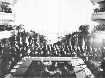 Photograph of delegates to Washington Conference