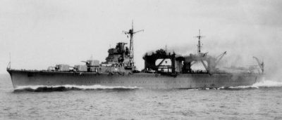 Photograph of seaplane tender Nisshin