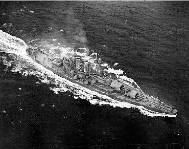 Photograph of USS North Carolina