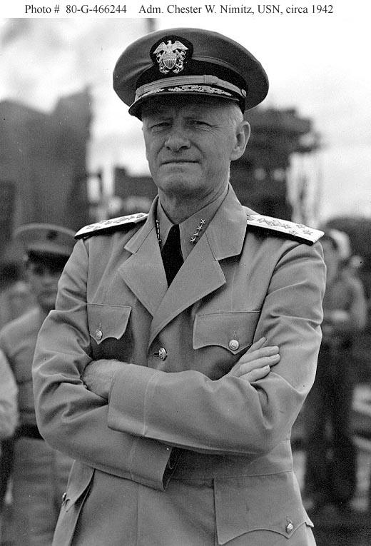 Navy College Program >> The Pacific War Online Encyclopedia: Nimitz, Chester W.