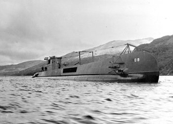 Photograph of O-19 class submarine