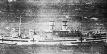 Photograph of Op Ten Noort in Japanese service