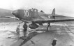 Photograph of P-39 Airacobra preparing for takeoff