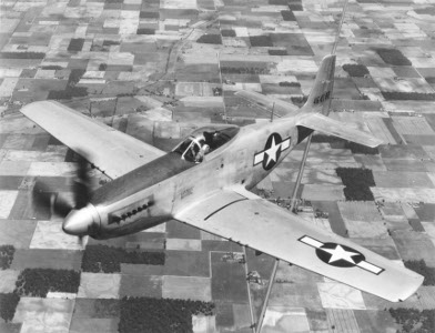 Photograph of P-51 Mustang