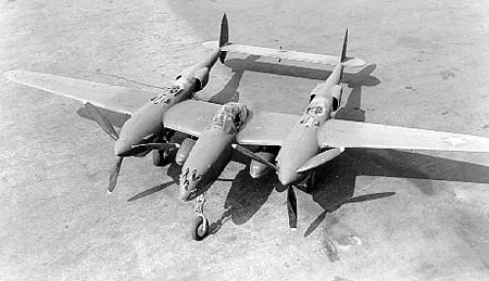 Photograph of P-38 Lightning