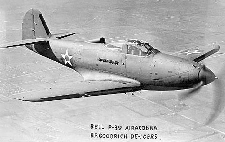Photograph of P-39 Airacobra