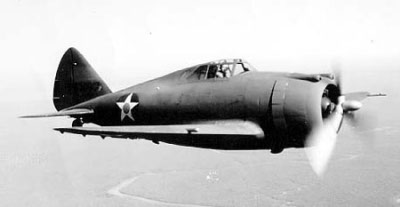 Photograph of P-43 Lancer
