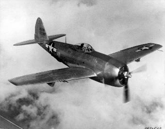 Photograph of P-47 Thunderbolt