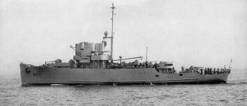 Photograph of PCE-827 class submarine chaser