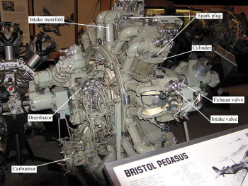 Photograph of Pegasus aircraft engine