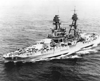 Photograph of Pennsylvania-class battleship