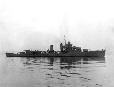 Photograph of Porter-class destroyer