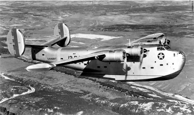 Photograph of PB2Y Coronado in flight