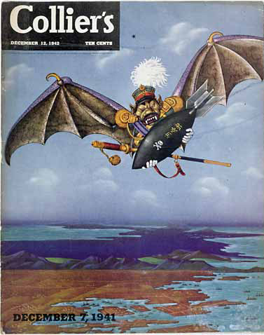 Cover of Collier's, 12 December 1942