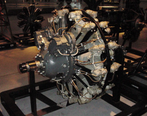 Photograph of R-2000 aircraft engine