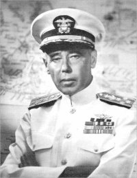 Photograph of Admiral Dewitt C. Ramsey