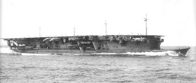 Photograph of IJN Ryujo