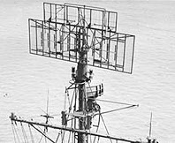 Photograph of SC-2 radar antenna