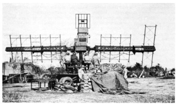 Photograph of SCR-268 radar