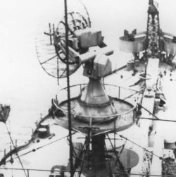 Photograph of SP radar antenna