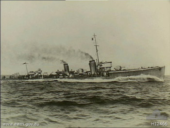 Photograph of Saber-class destroyer