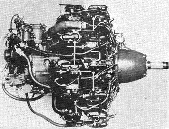 Photograph of Japanese Sakae 21 aircraft engine