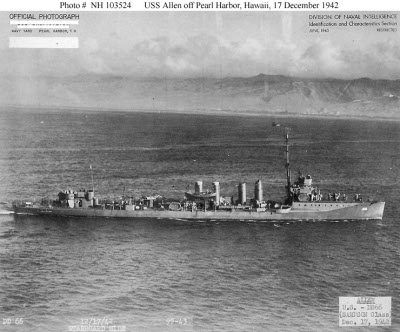 Photograph of Wickes-class destroyer